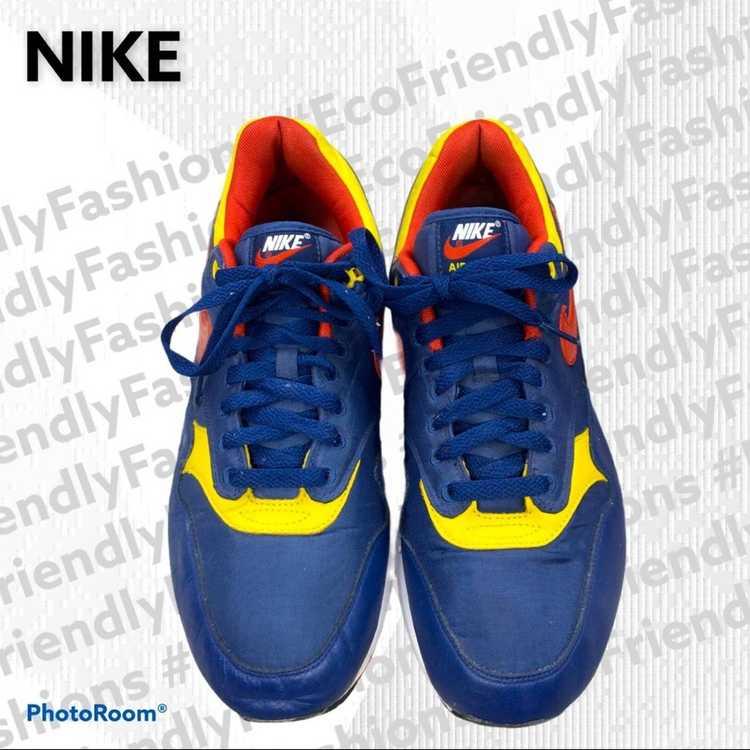 """Nike Nike Men's Blue Air Max 1 """"snow Beach"""" Polo … - image 4"""