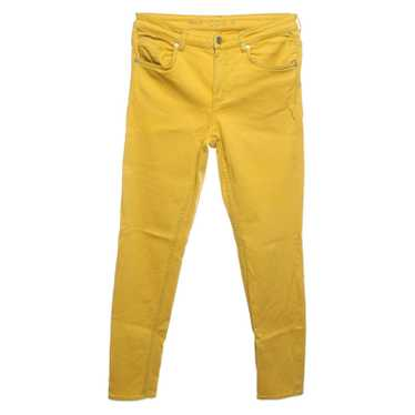 Cos Jeans Cotton in Yellow