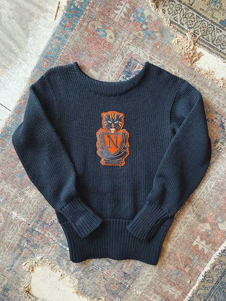 Vintage Indian Brand Varsity Sweater - Size Small - image 1