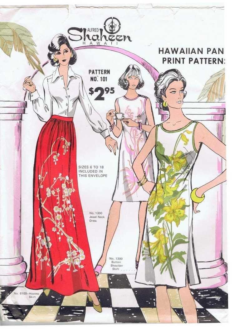 70s Shaheen Shift Dress - image 13