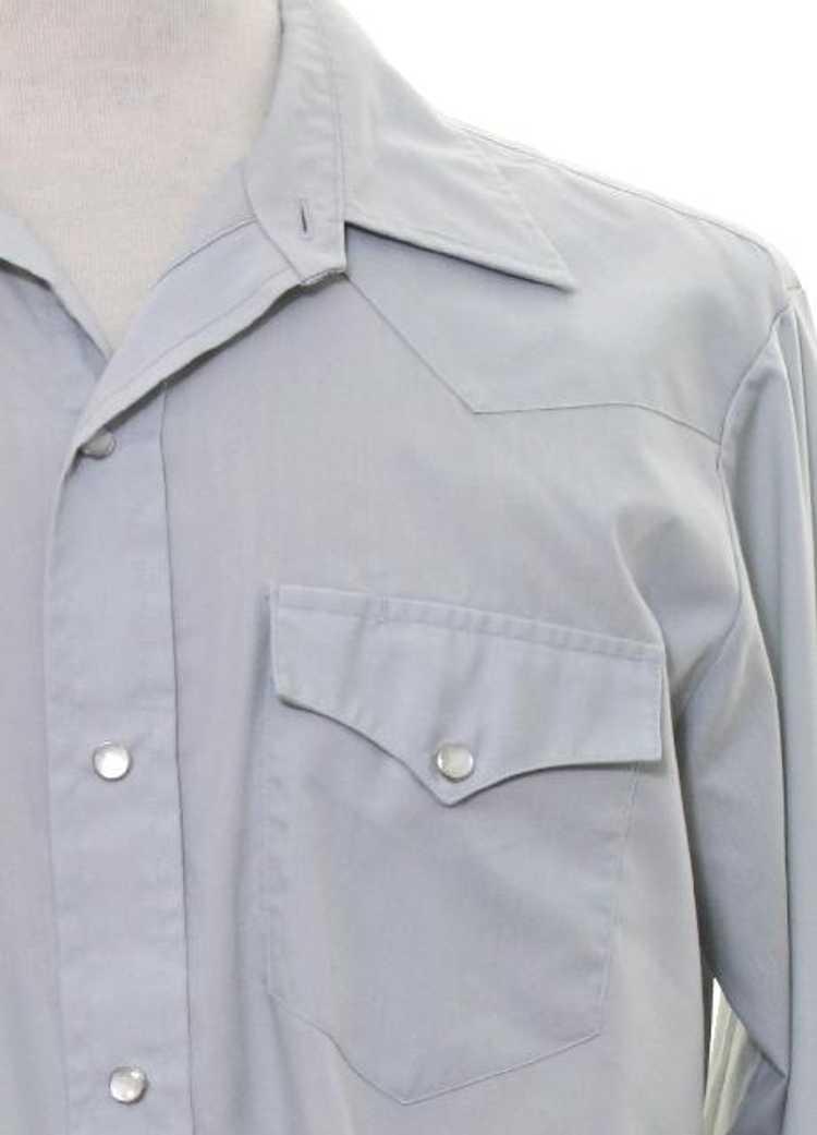1980's H Bar C Mens Western Shirt - image 2