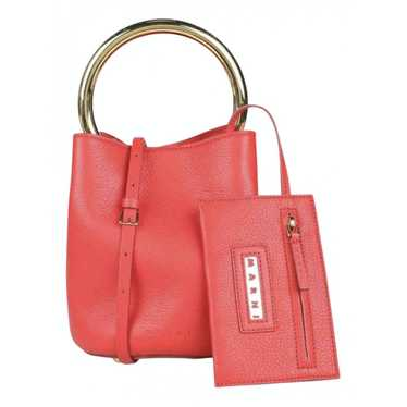 Marni Pannier Red Leather handbag for Women