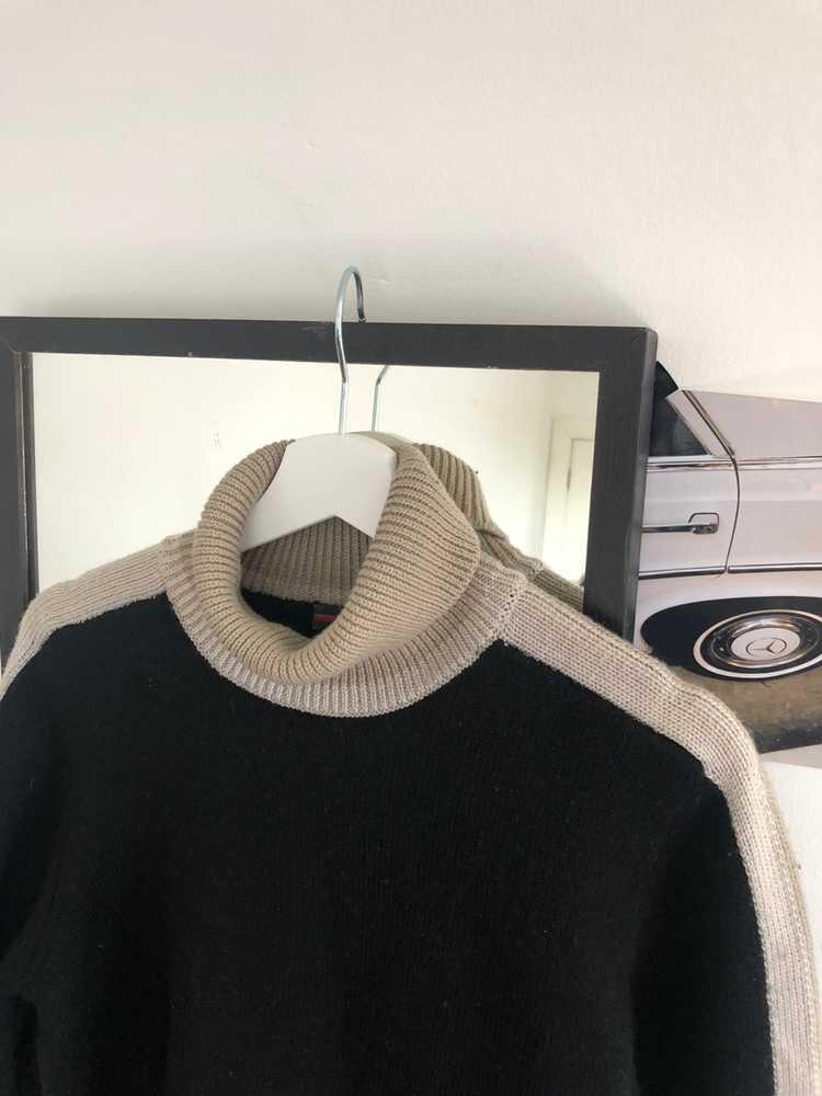 Prada Prada wool polo sweater 90's - image 3