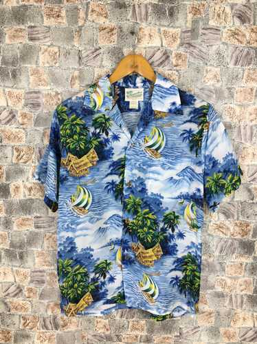 Aloha Wear × Hawaiian Shirt Vintage Diamond Head R