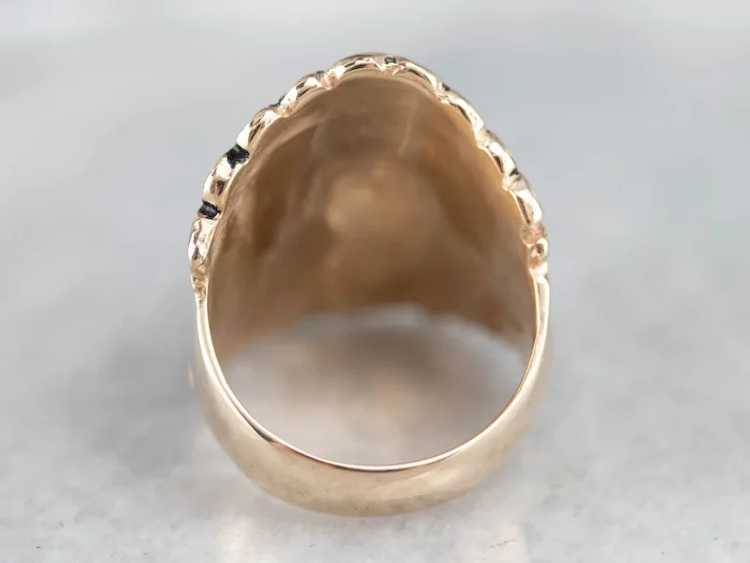 Native American Chief Statement Ring - image 5