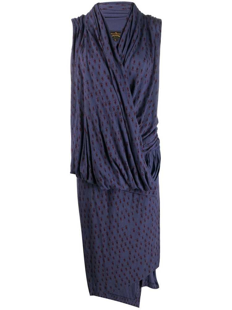 Vivienne Westwood Pre-Owned knitted wrap-front dr… - image 1