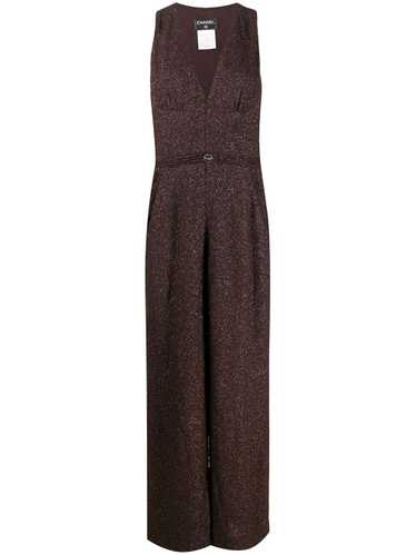 Chanel Pre-Owned 2008 metallic threading jumpsuit