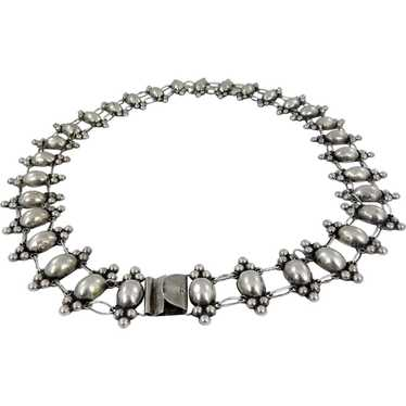 Mexican – EARLY Sterling Silver Concho Belt C. 192