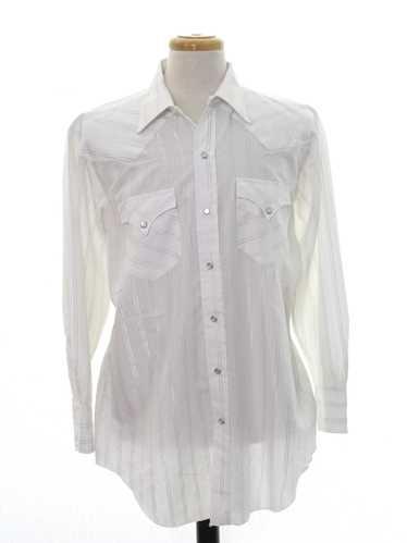 1980's H Bar C Mens Western Shirt