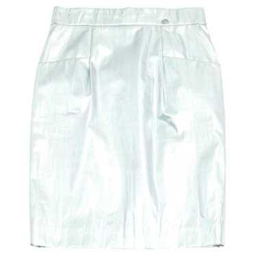 Chanel Skirt in Silvery