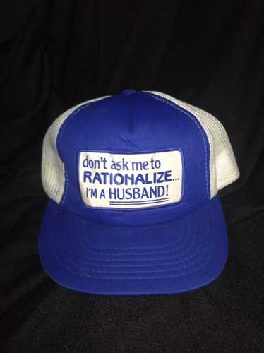 Hats × Vintage Vintage trucker husband hats cap