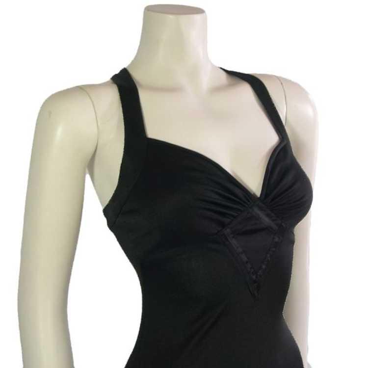 Vintage Black Radley Dress 1970s - image 3