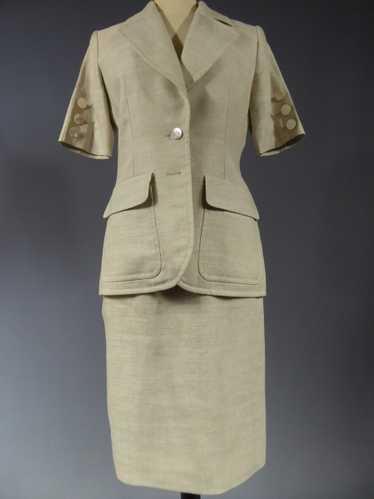 Yves Saint Laurent Skirt Suit Circa 1990