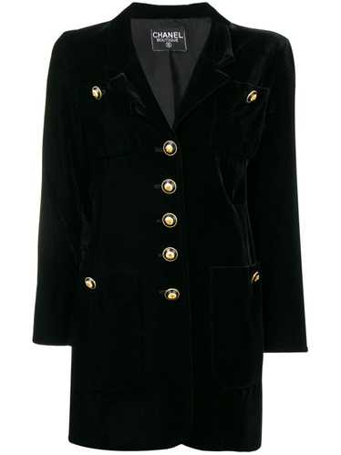 Chanel Pre-Owned 1990's nautical jacket - Black - image 1