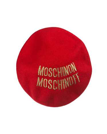 Moschino Logo Beret