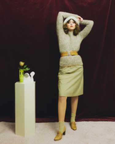 1960s Bonnie Cashin for Sills mohair sweater