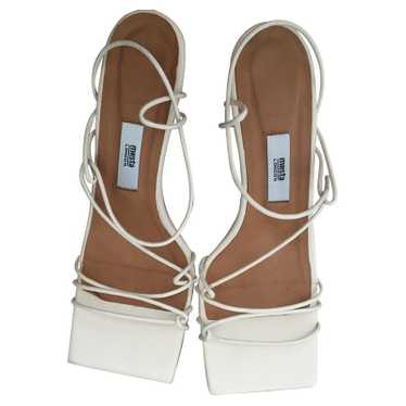 Miista Sandals Leather in White