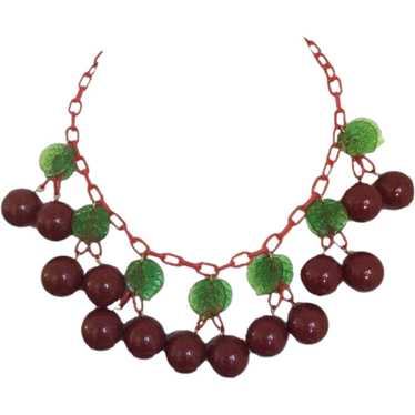 Anka Cherry Necklace
