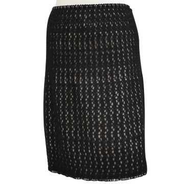Alaïa skirt with crochet lace
