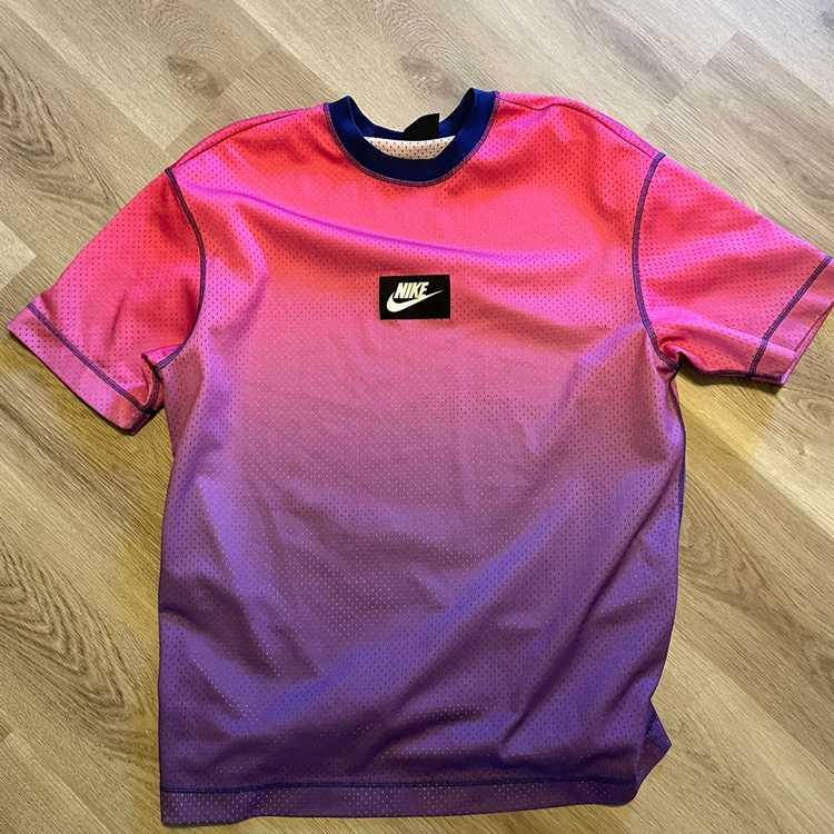 Nike Nike Oversized Mesh Shirt - image 1