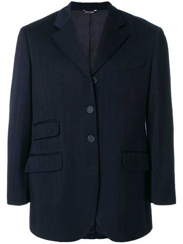 Moschino Pre-Owned suit jacket - Blue