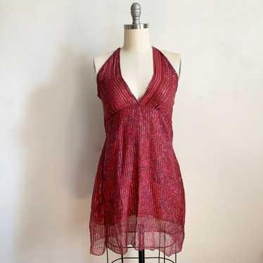 1990s Indian Cotton Gauze Dress