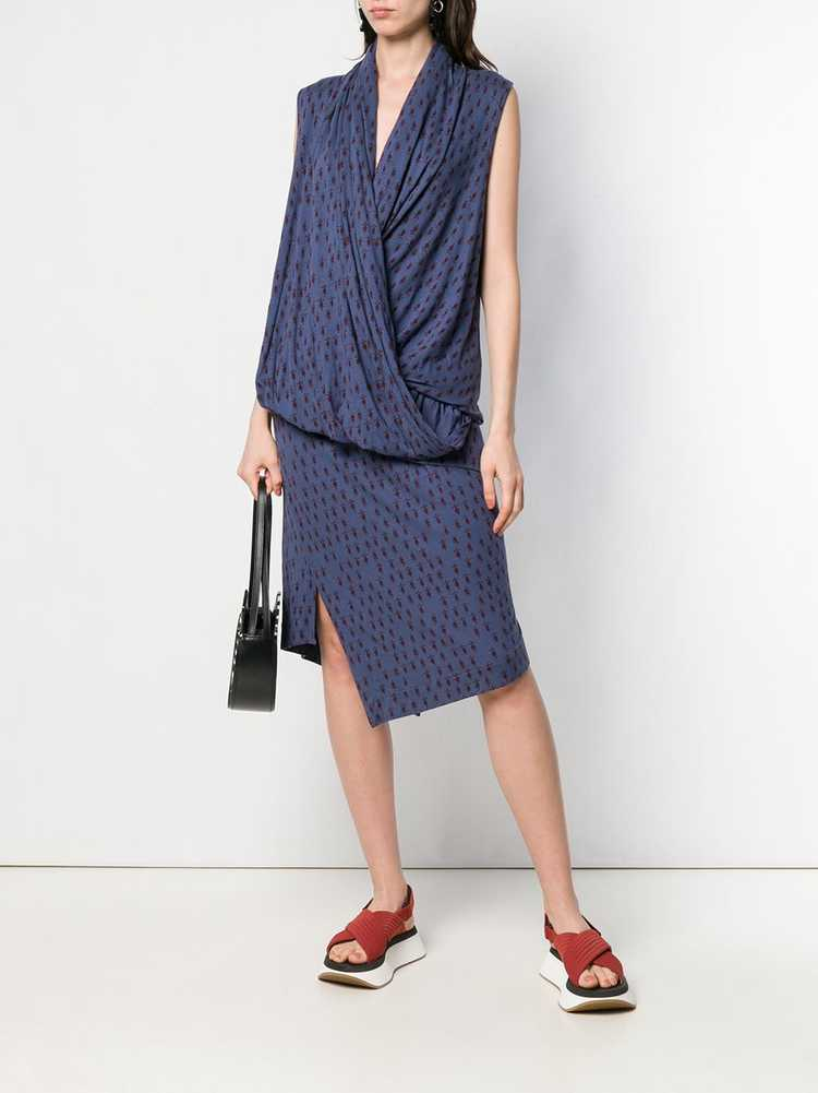 Vivienne Westwood Pre-Owned knitted wrap-front dr… - image 2