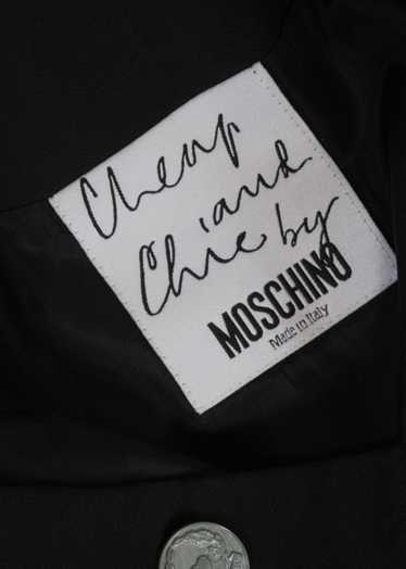 2000s// MOSCHINO Cheap & Chic// Double Button Blac