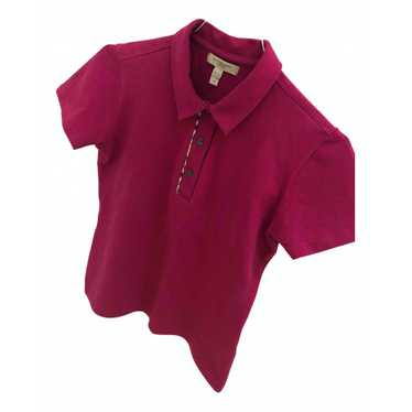 Burberry Pink Cotton top for Women 36 FR