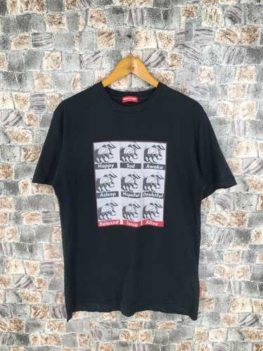 Vintage 1980/'s Keith Haring World Issues Pop Art Tie Dye T-shirt Size M Medium Andy warhol Roy lichtenstein Barbara kruger