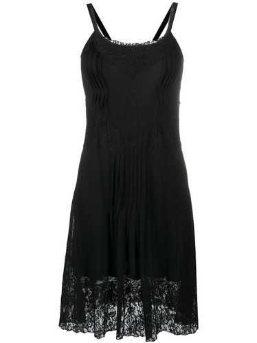Christian Dior 2000s pre-owned lace dress - Black