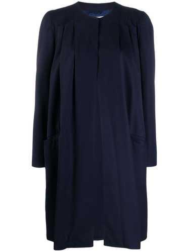 Valentino Pre-Owned 1980's Valentino coat - Blue