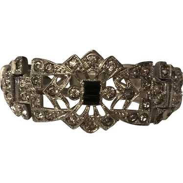 1930's Art Deco filigree bracelet