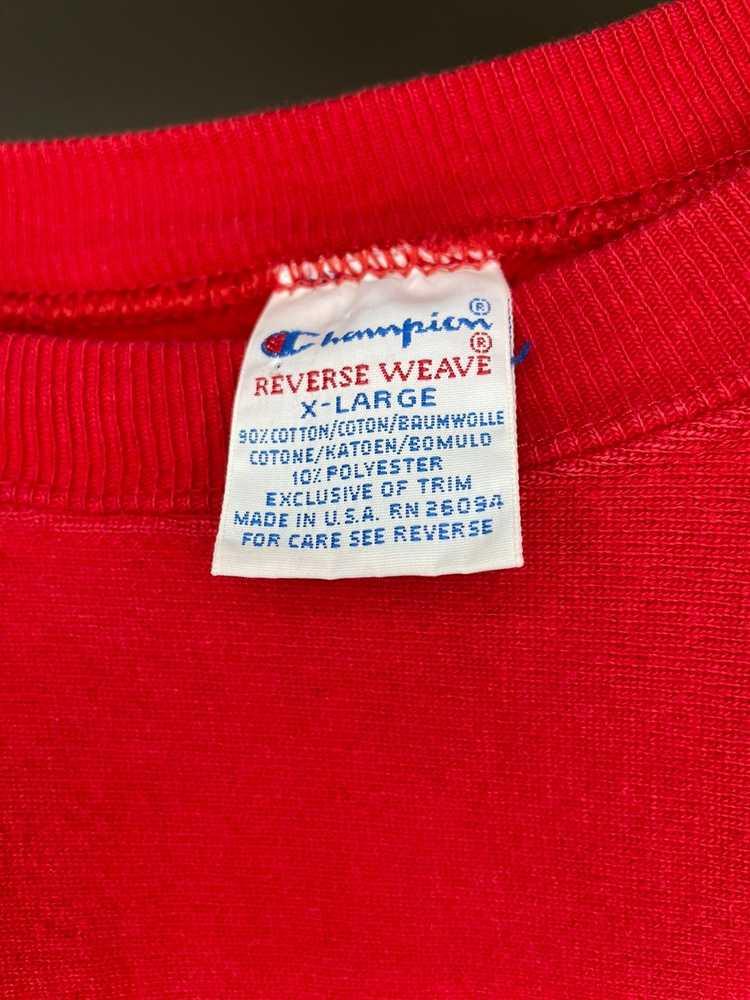 Champion × Streetwear × Vintage Vintage 90s Champ… - image 3