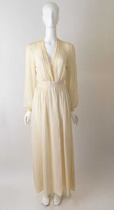 40s Sheer Dressing Gown
