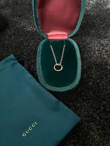 Gucci Gucci snake necklace