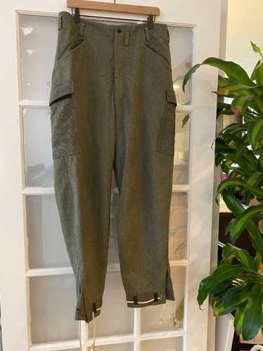 Military × Vintage Vintage 50S Wool Military Pants