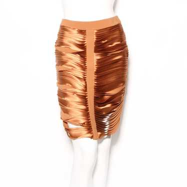 Dion Lee Stacked Strip Skirt