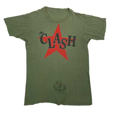 """Vintage The Clash """"Clash City Rockers"""" T-Shirt Ret"""