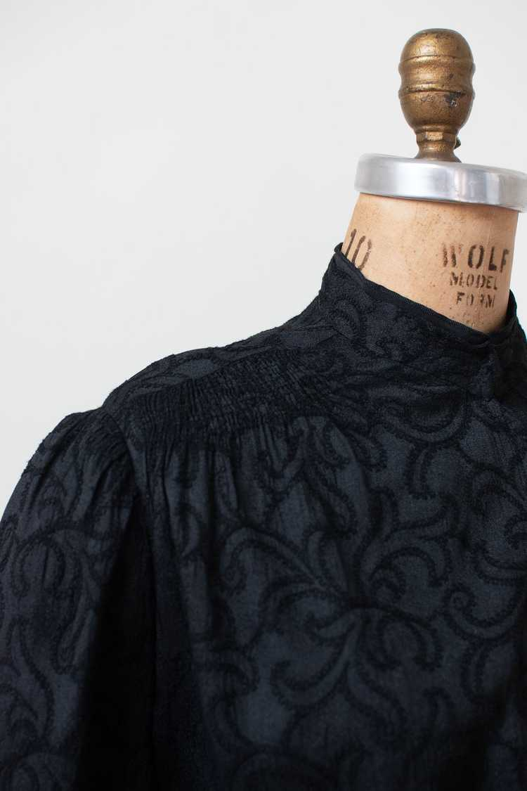 Antique Embroidered Blouse - image 4
