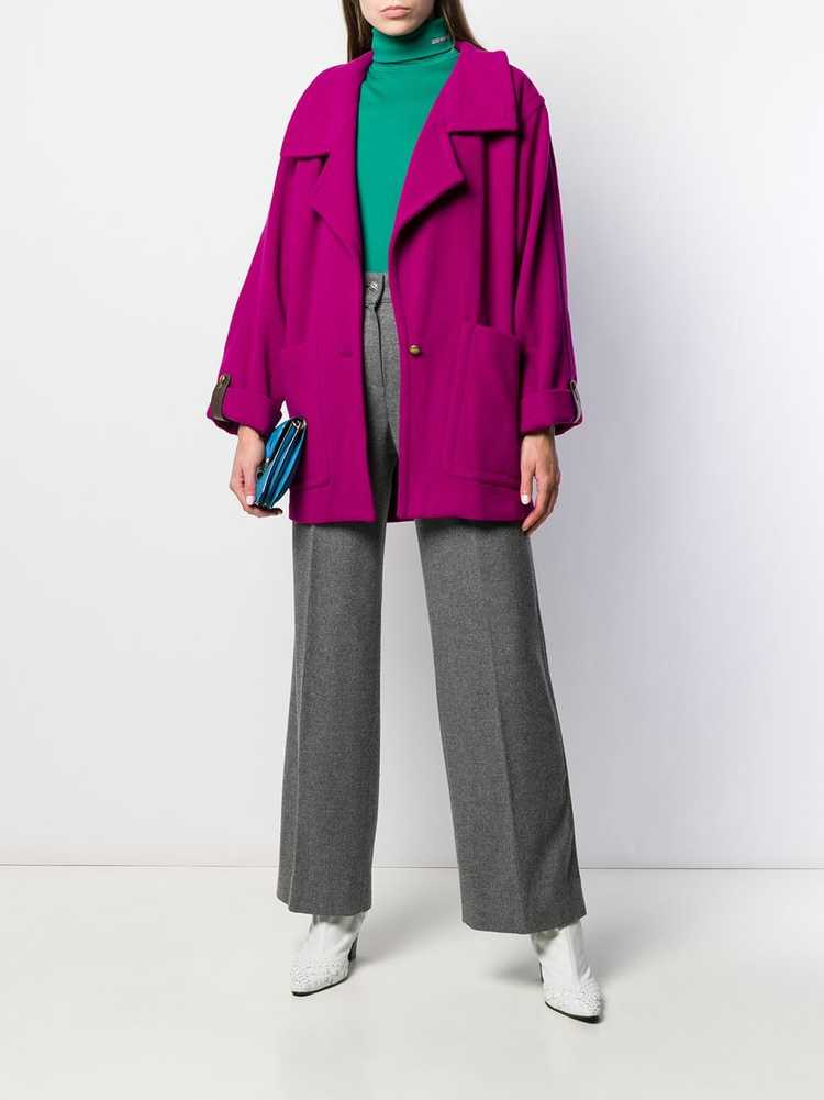 A.N.G.E.L.O. Vintage Cult 1980s cropped trench co… - image 2