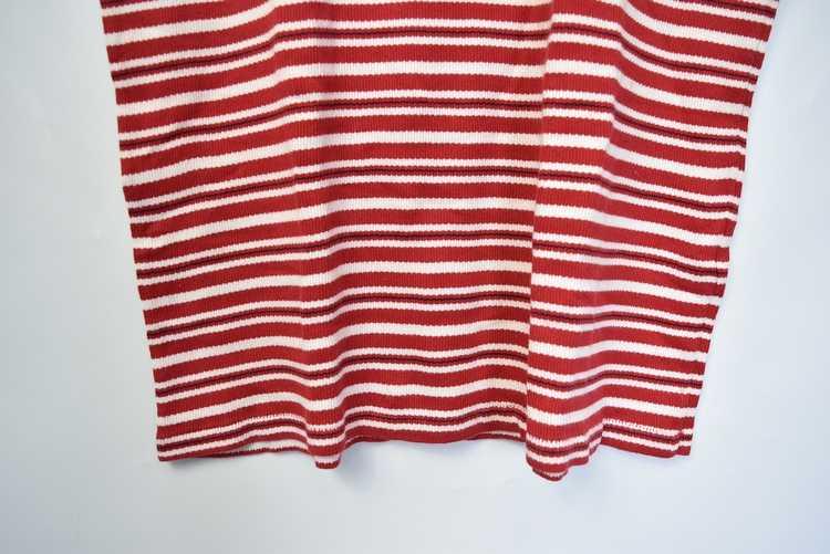 Issey Miyake ISSEY MIYAKE 90s old stripe polo shi… - image 5