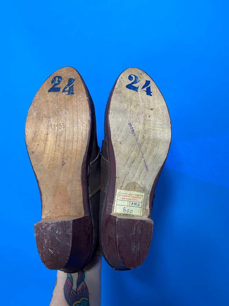 Deadstock 1940s shoes, french - image 6