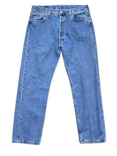 Levi's × Streetwear × Vintage 90s 501 XX mid wash