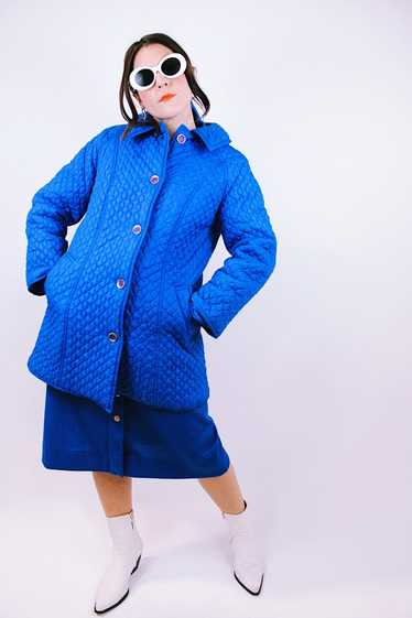 Quilted Puffy Coat