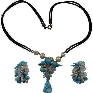 Rousselet Necklace and Earring Set - image 1