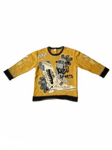 Kansai Yamamoto Kansai Yamamoto Knit Boot Sweater