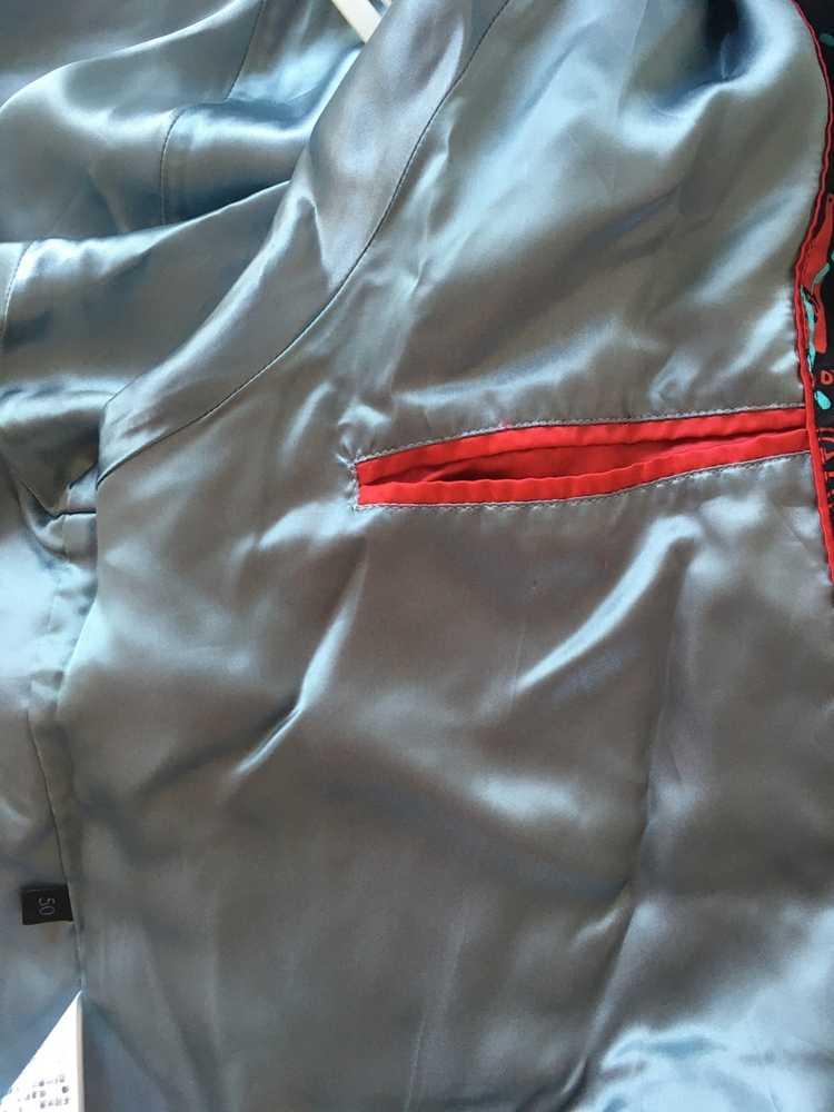 Gucci Gucci ghost silk bomber - image 7