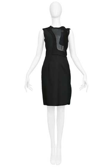 EARLY BLACK PATCHWORK SHIFT DRESS