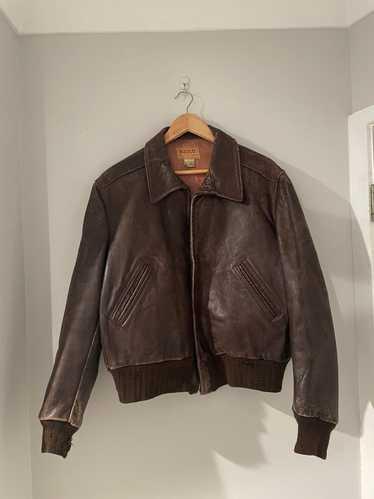 Vintage 1940s vintage Hercules leather jacket